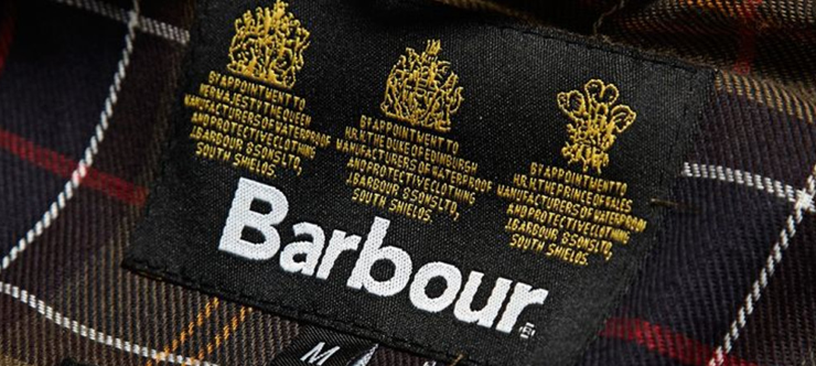 50% Off Barbour - Barbour Sale Banner