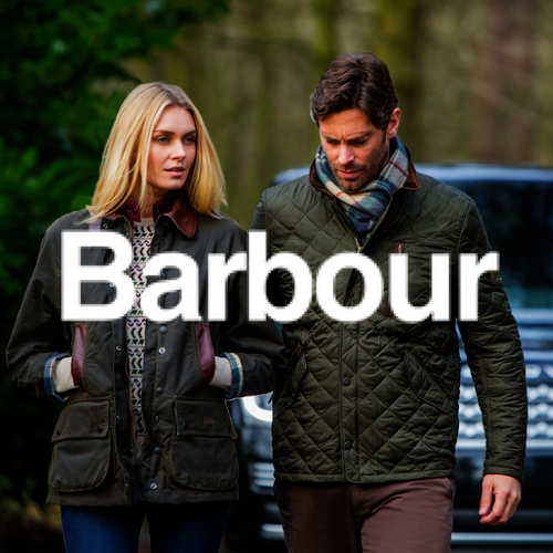 Barbour Brand Image - Buy British