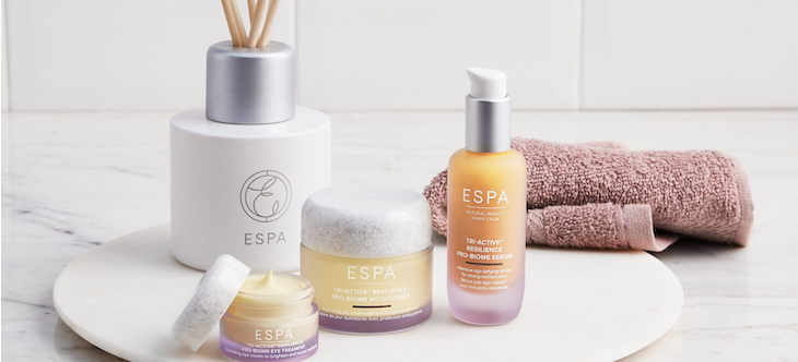 10% off First Orders at ESPA Skincare Banner