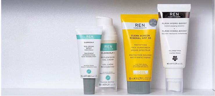 REN Skincare Products - REN Skincare Student Discount