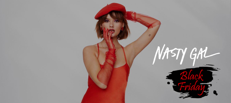 Nasty Gal Black Friday Voucher Code - Extra 15% Off - Banner