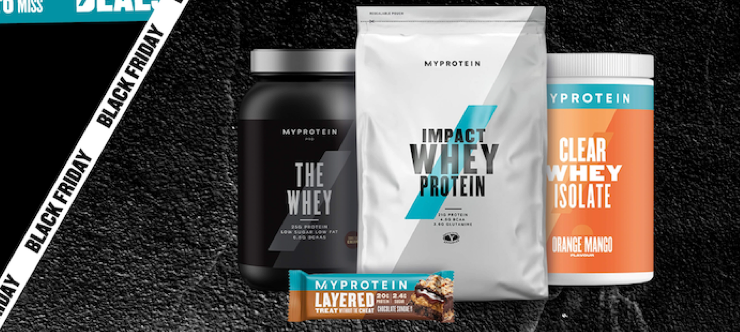 45% Off Everything Myprotein Black Friday Special Banner