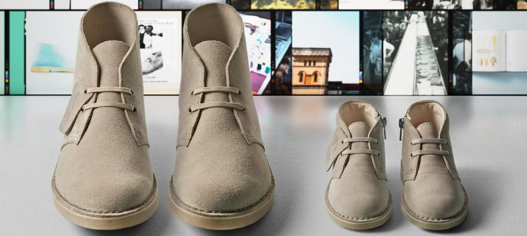50% Off Clarks Shoes in the Official Sale Banner