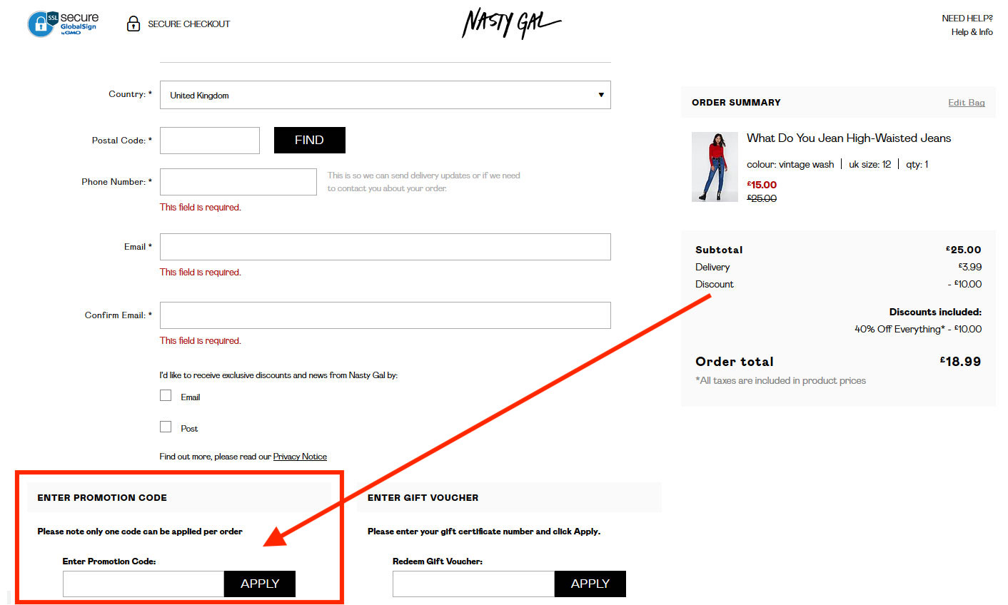 How to Use Nasty Gal Voucher Codes