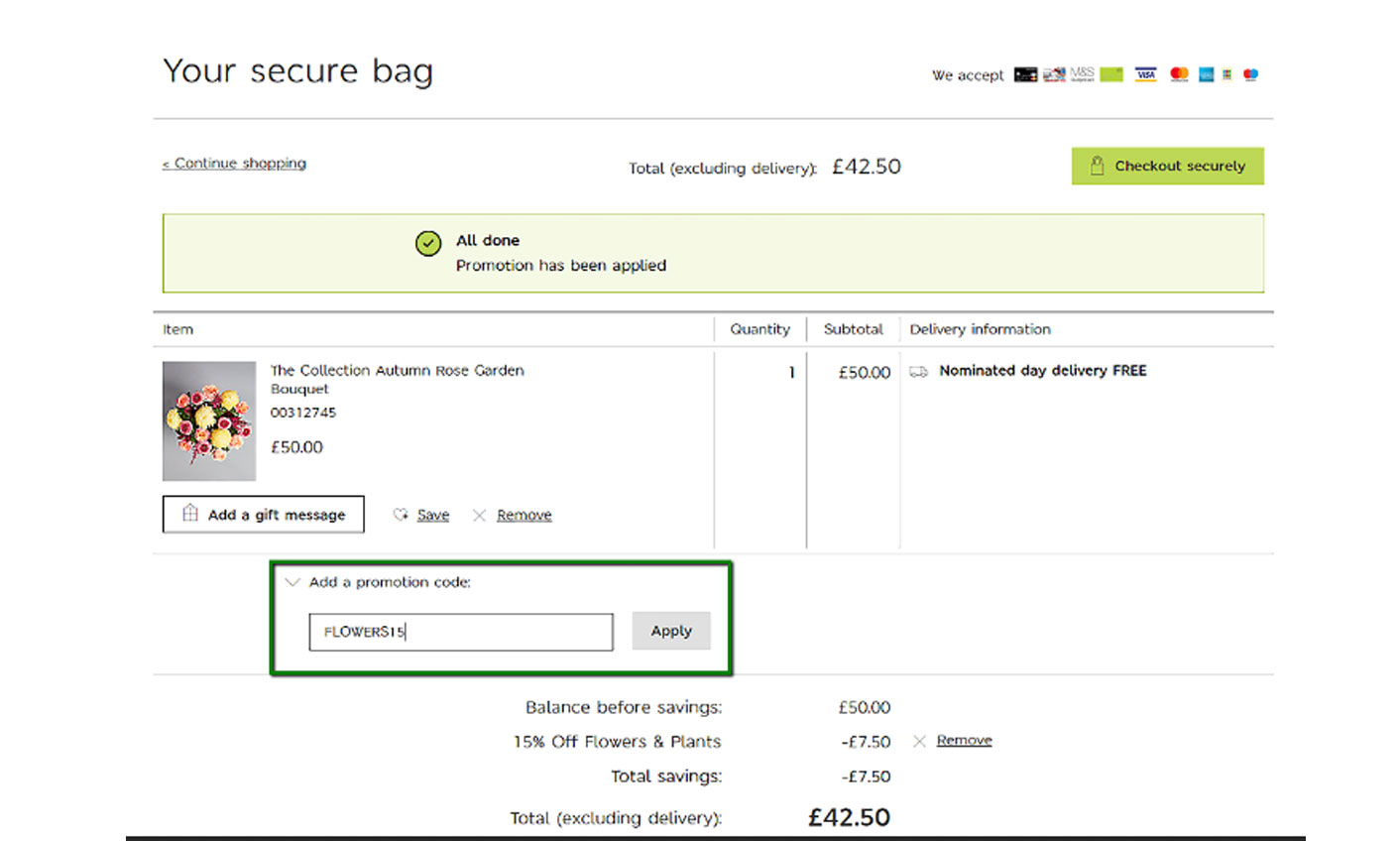Marks and Spencer - How to Use M&S Voucher Codes