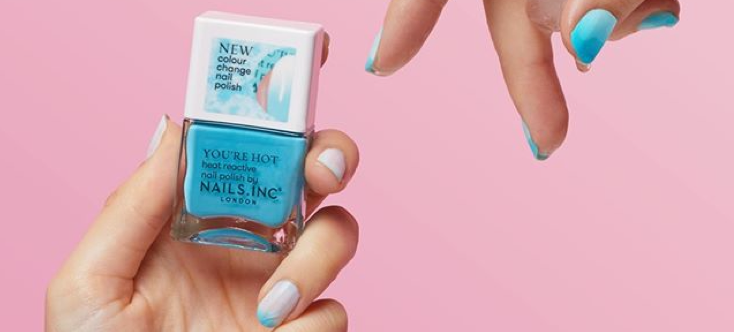 Nails Inc £10 Off - When you Spend Over £50 - Banner
