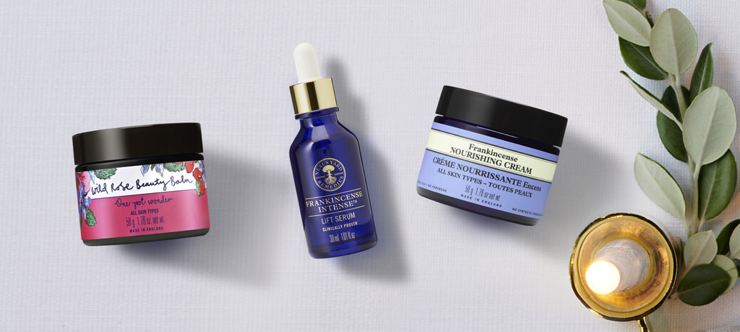 Neal's Yard Remedies Black Friday Event Banner