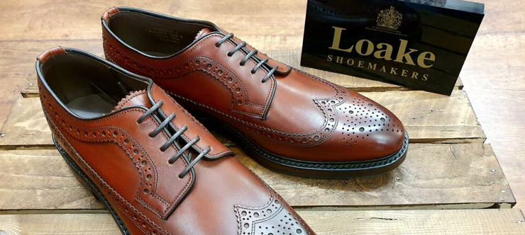 Up to 50% Off Loake in the Official Loake.com Sale Banner