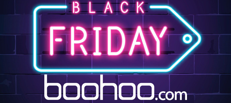 Boohoo Black Friday Special Banner